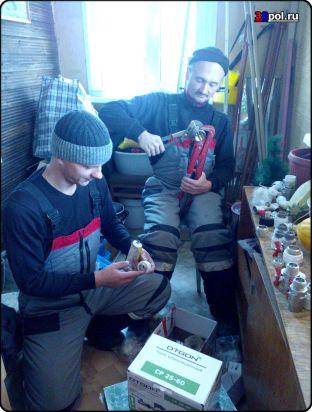 Отопление частного дома. Иркутск. р-н. Ерши