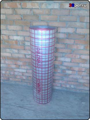 Монтаж теплоизоляции для теплого пола Valtec