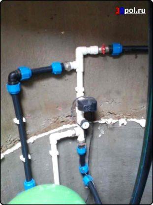 Монтаж автоматики водоснабжения