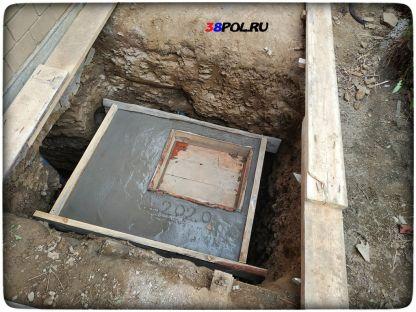 Кессон для скважины в Иркутске