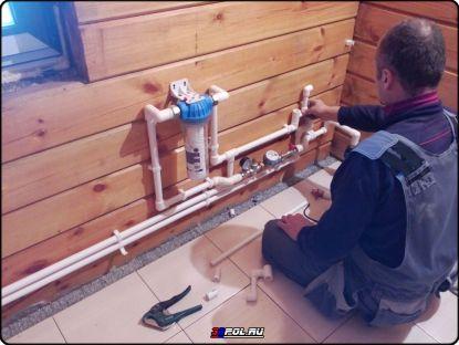Водоснабжение в частном доме. Баклаши