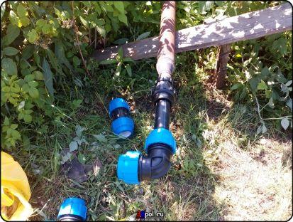 Водоснабжение в садоводстве