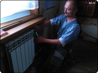 Переделка системы отопления. Радиаторы.