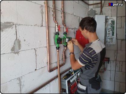 Подключение циркуляционных насосов к котлу отопления