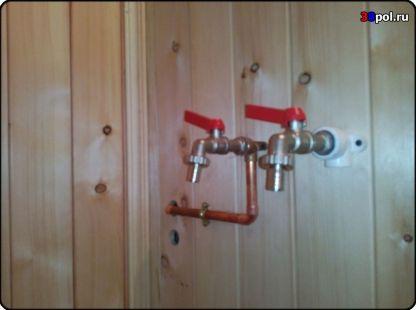 Водоснабжение в бане