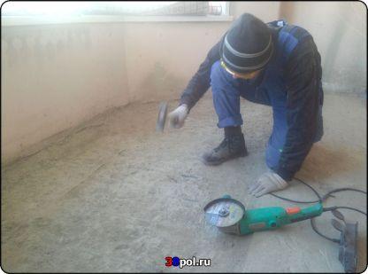 Подготовка к монтажу тёплого пола