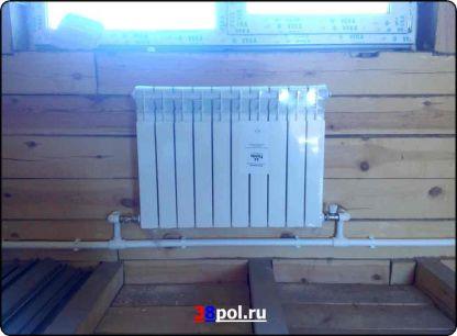Отопление частного дома в Иркутске