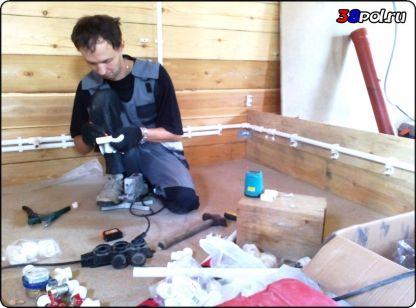 Водоснабжение в частном доме. Иркутск