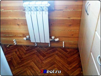 Радиаторное отопление в доме