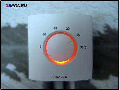 Термостат теплого водяного пола