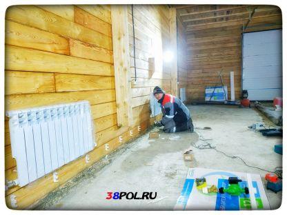 Монтаж двухтрубной системы отопления
