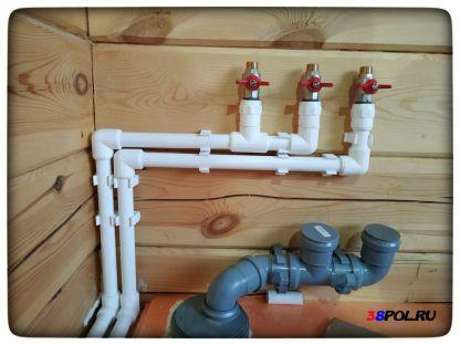 Водоснабжение в частном доме. Байкальский тракт