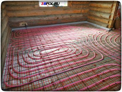 Тёплый водяной пол в частном доме