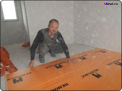 Тёплый водяной пол в Иркутске